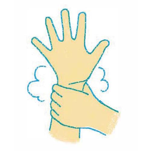 手洗いダンスの7つのポイント